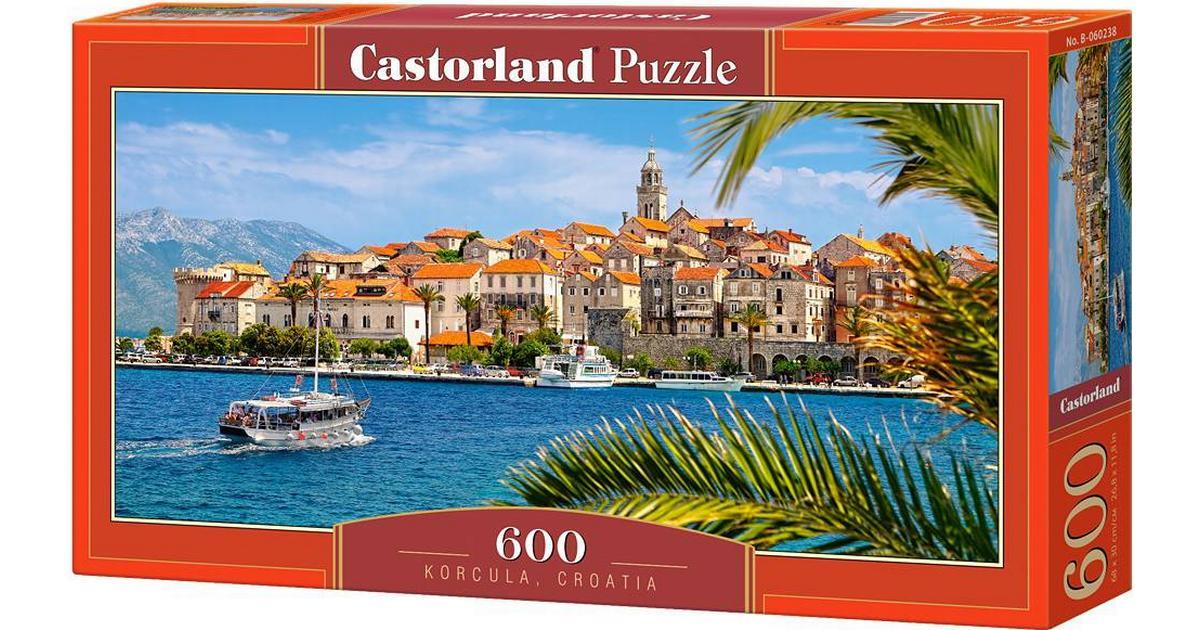 600 Piece CJDKD B-060238 Castorland Korcula Croatia Jigsaw Puzzle