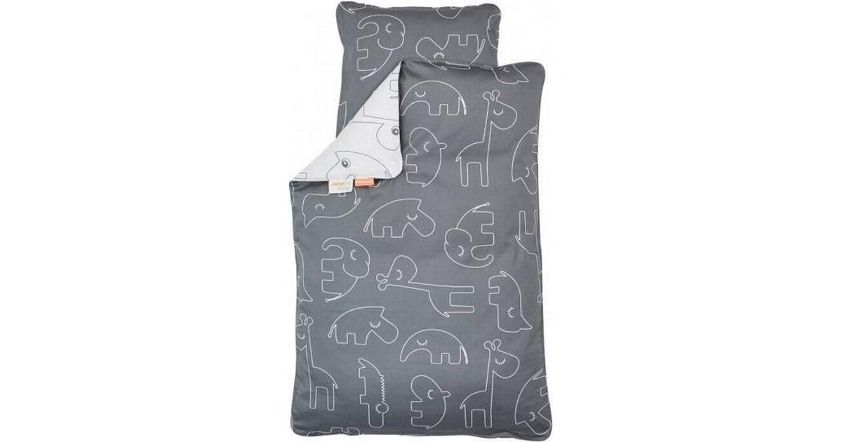 Picture of: Done By Deer Sleepy Bedlinen Junior 100x140cm Se Priser Hos Os