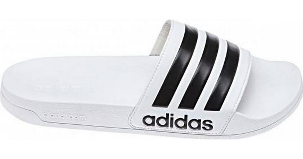 Køb adidas Cloudfoam Adilette Sandal Herre i Hvid   JD Sports
