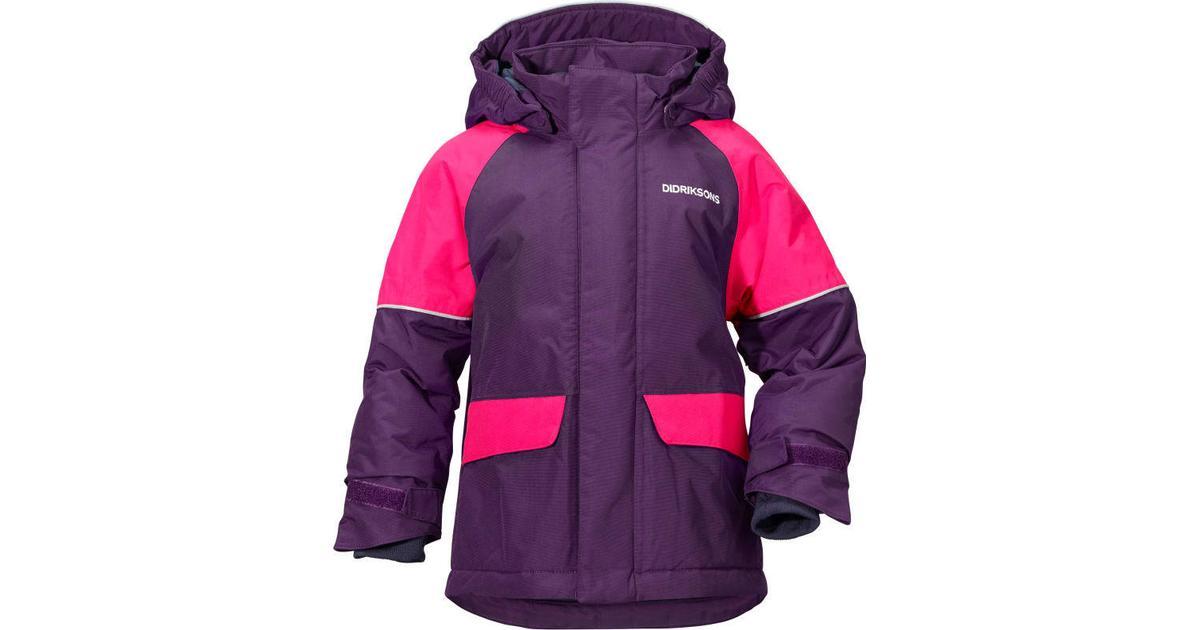 Didriksons Kure Kids Parka Jacket Berry Purple | Jackets