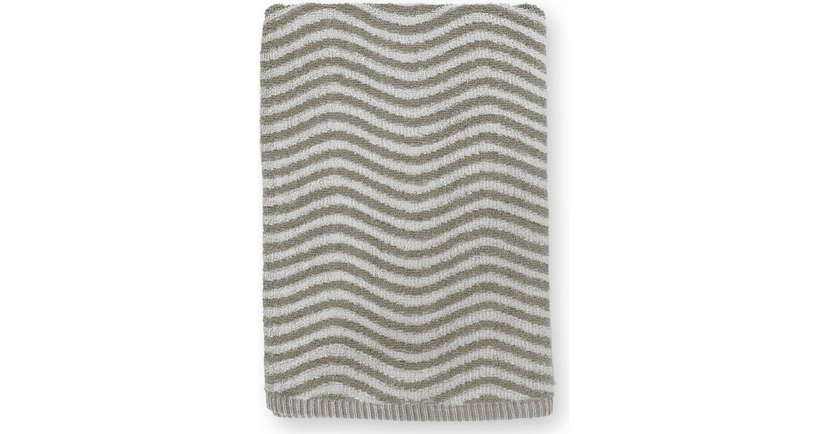 Juna Check håndklæde, 70x140 cm, nude - Salling.dk