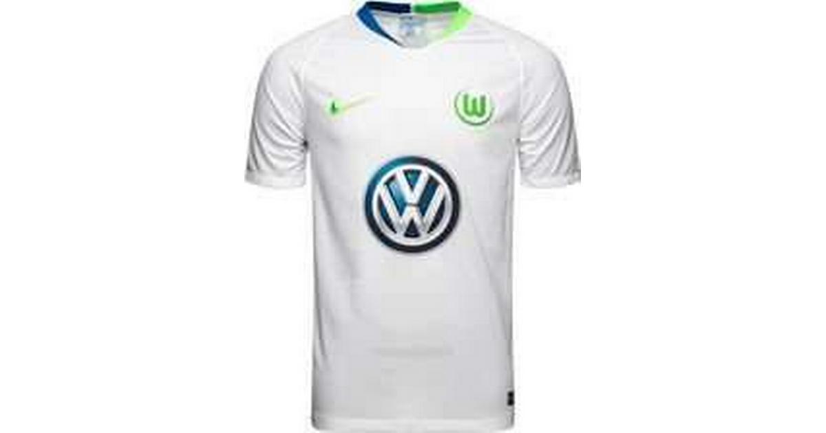 brand new b908e 5ea6c Nike VFL Wolfsburg Away Jersey 18/19 Youth - Sammenlign priser &  anmeldelser på PriceRunner Danmark