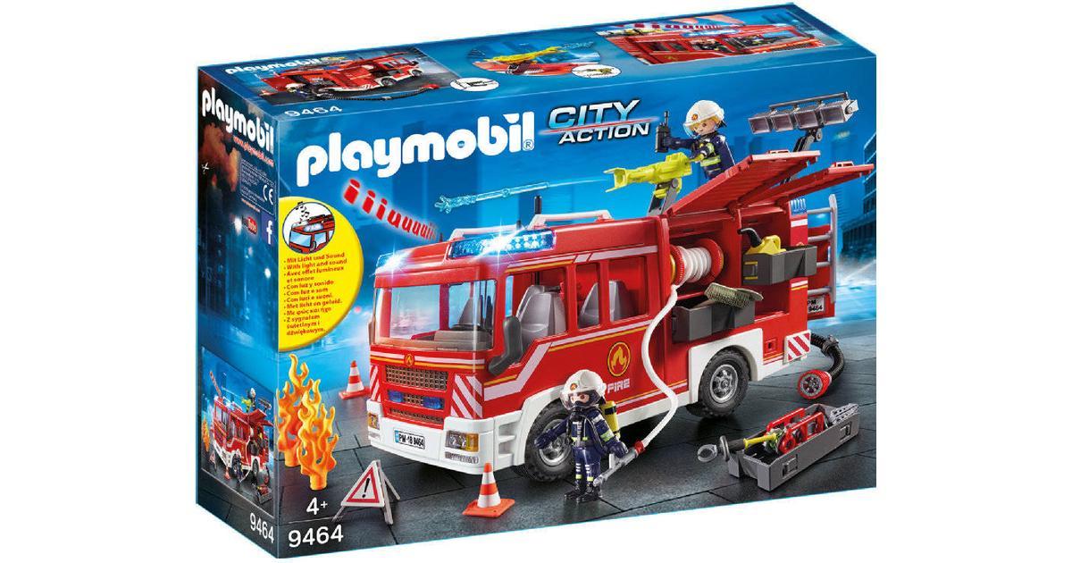 Tidssvarende Playmobil Fire Engine 9464 • Se pris (28 butikker) hos PriceRunner » MX-73
