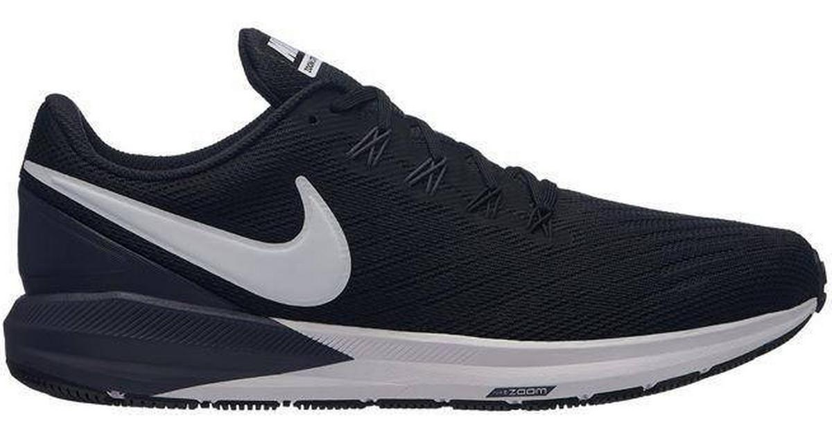 nike air zoom structure 18 gold black billig