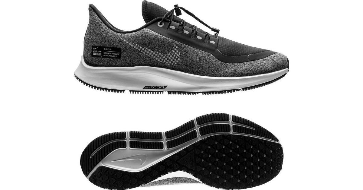 Nike Air Zoom Pegasus 35 Shield W BlackGreySilver Sammenlign priser & anmeldelser på PriceRunner Danmark