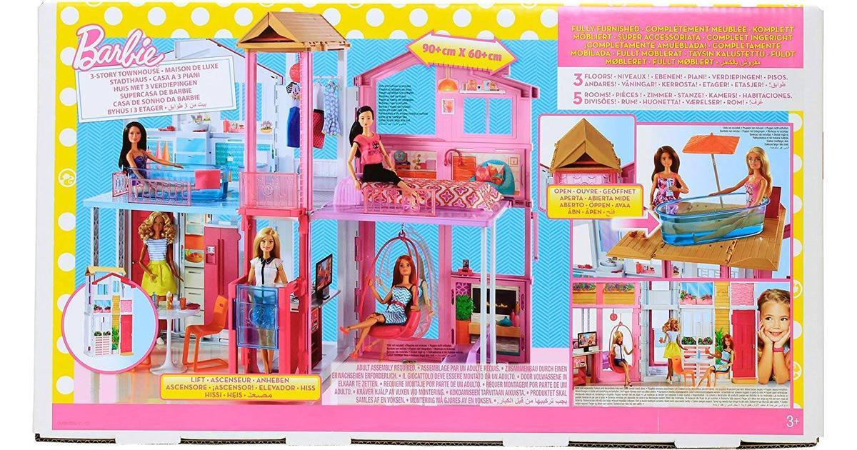 Velsete Mattel 3 Storey Townhouse - Sammenlign priser hos PriceRunner PR-53