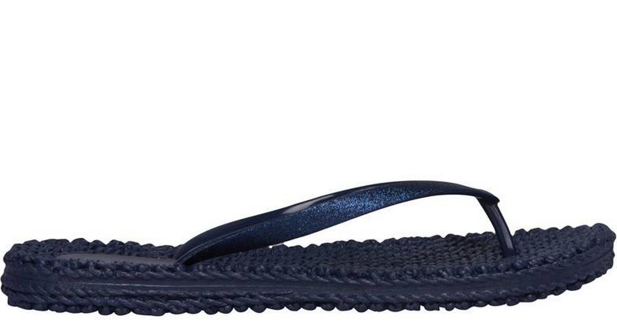 Ilse Jacobsen Flip Flop with Glitter Blue