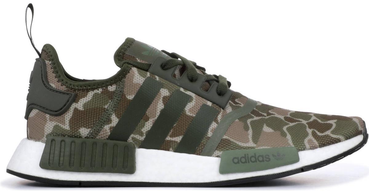 Adidas NMD_R1 StltPrimeknit Trace OliveCore BlackSolar
