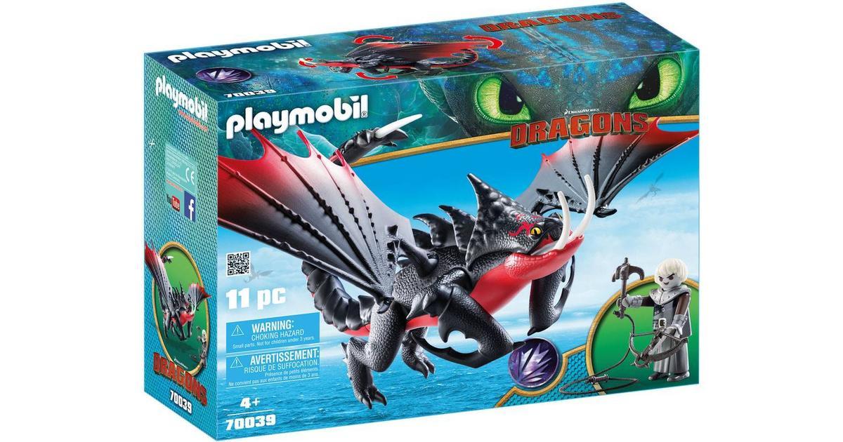 Rørig Playmobil Deathgripper with Grimmel 70039 • Se priser (26 butikker) » JN-44