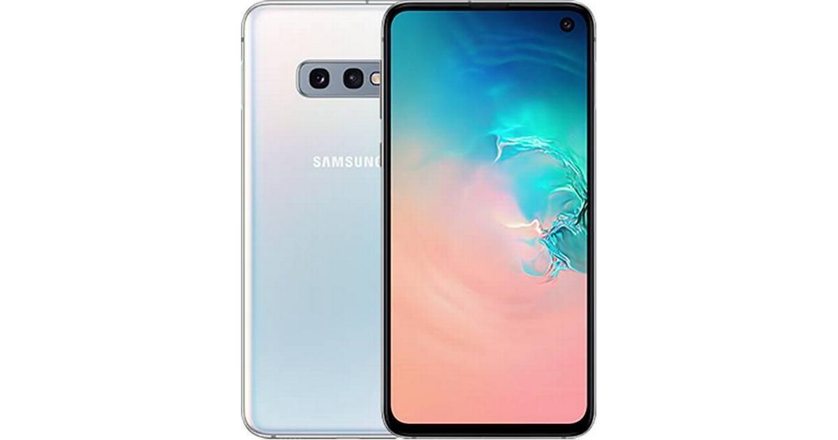 Ultramoderne Samsung Galaxy S10e 128GB - Sammenlign priser hos PriceRunner VH-99