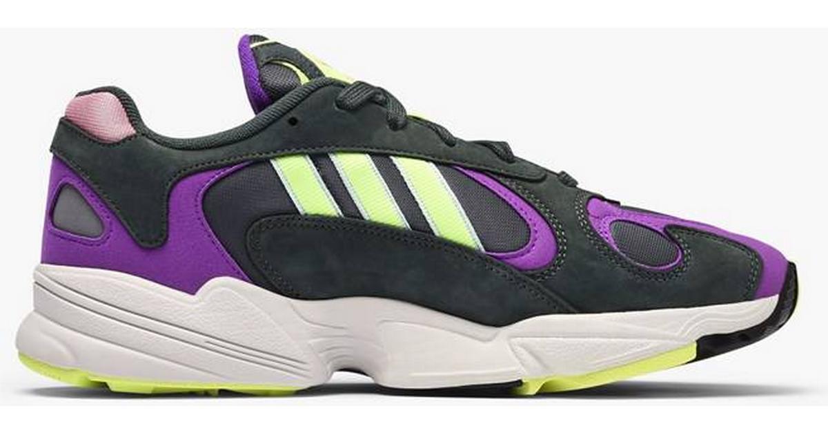 Adidas Yung 1 Legend IvyHi Res YellowActive Purple YellowPurple