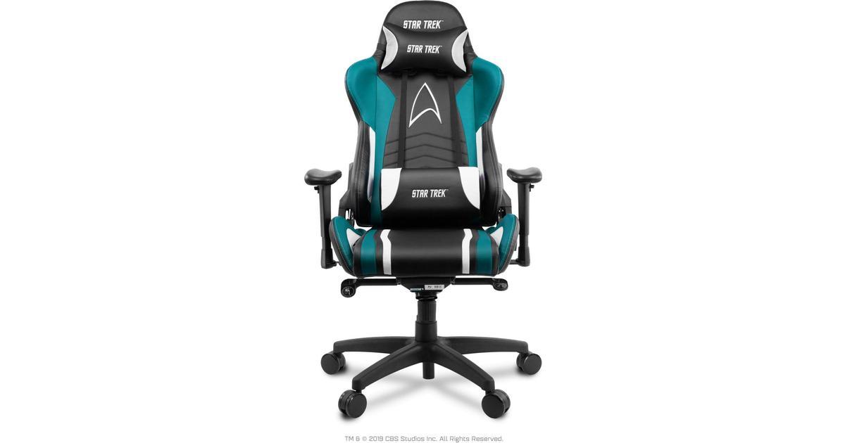 Arozzi Verona Pro V2 Star Trek Edition Gaming Chair BlackBlue Sammenlign priser & anmeldelser på PriceRunner Danmark