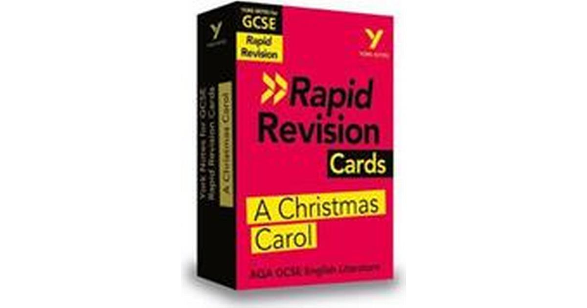 York Notes for AQA GCSE (9-1) Rapid Revision Cards: A Christmas Carol (Ukendt format, 2019) • Se ...