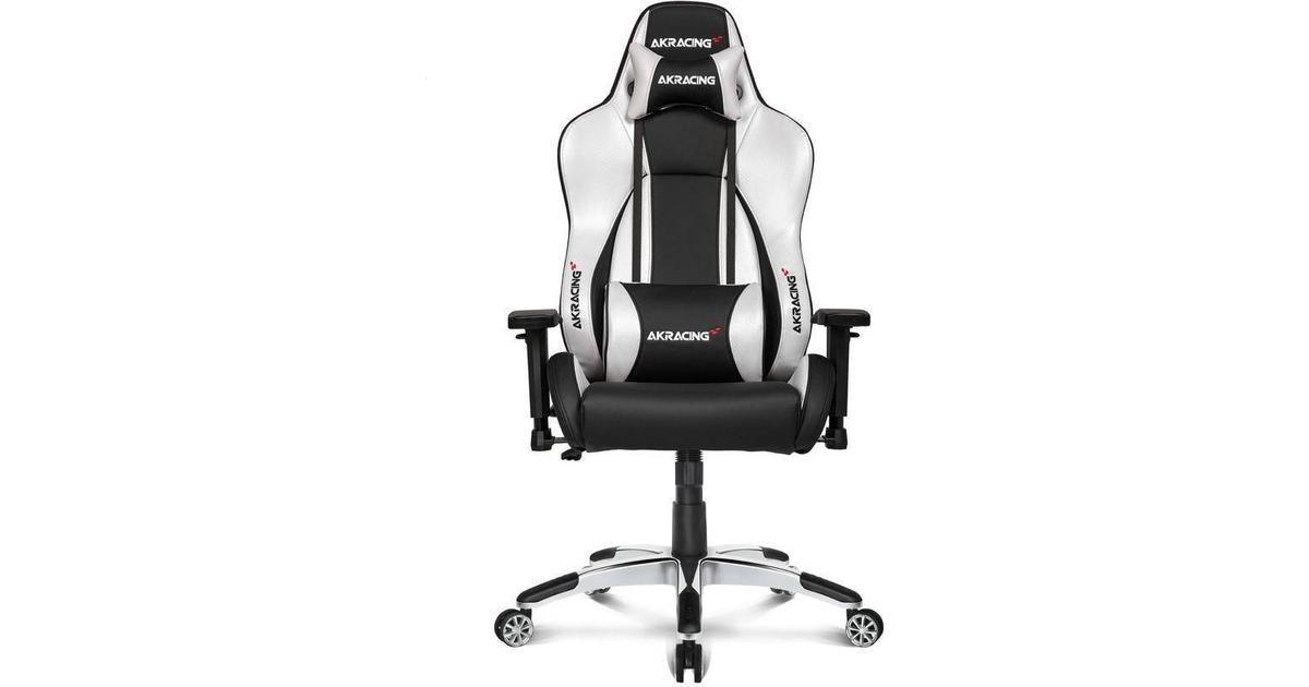 AKRACING Rush Gaming Chair Black White