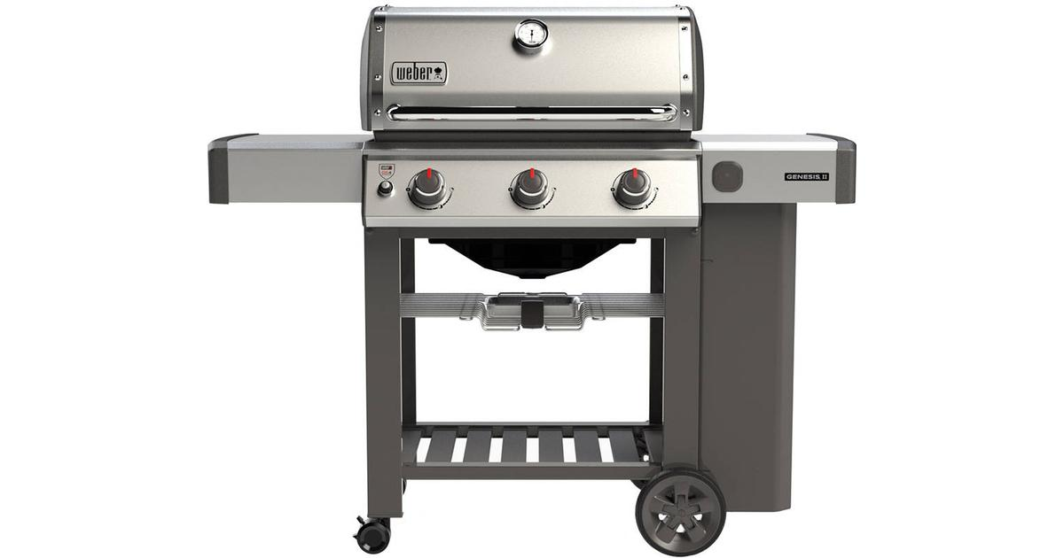 Weber Genesis S 310 >> Weber Genesis II S-310 GBS • Se pris (2 butikker) hos PriceRunner