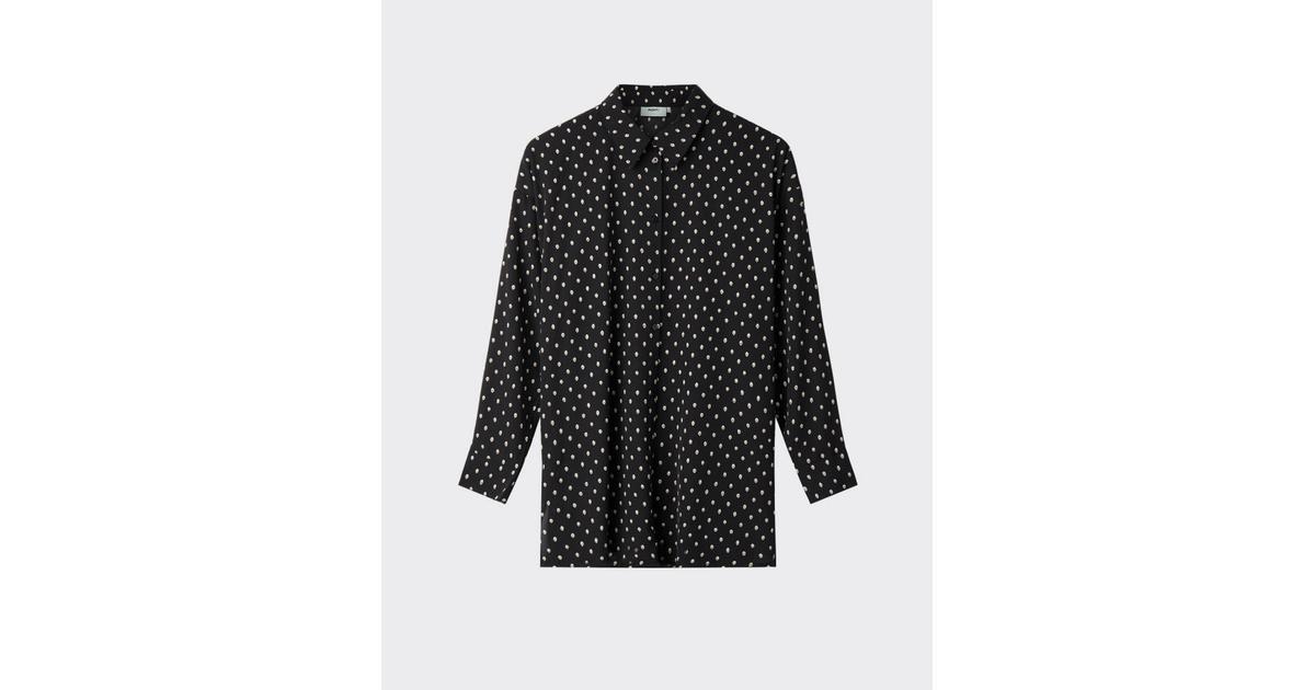 Moves By Minimum Skjorte Fromm Shirt Black