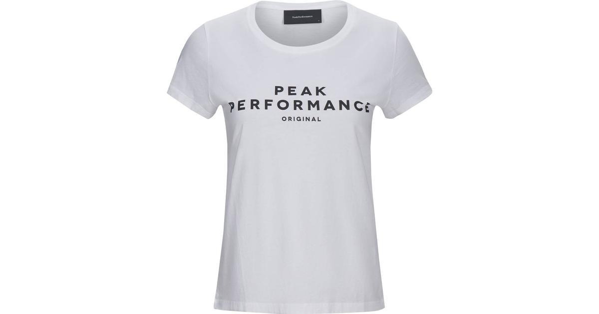 Peak Performance Original T shirt White Sammenlign priser & anmeldelser på PriceRunner Danmark