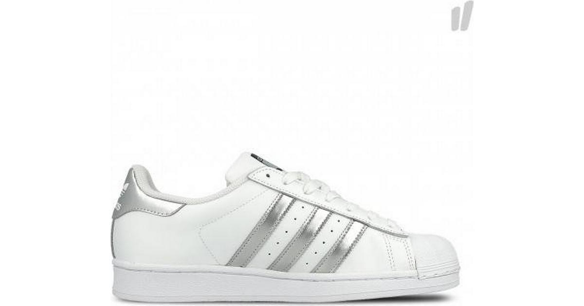 new products c9f34 02003 Adidas Superstar W - Cloud White/Silver Metallic/Core Black - Sammenlign  priser & anmeldelser på PriceRunner Danmark