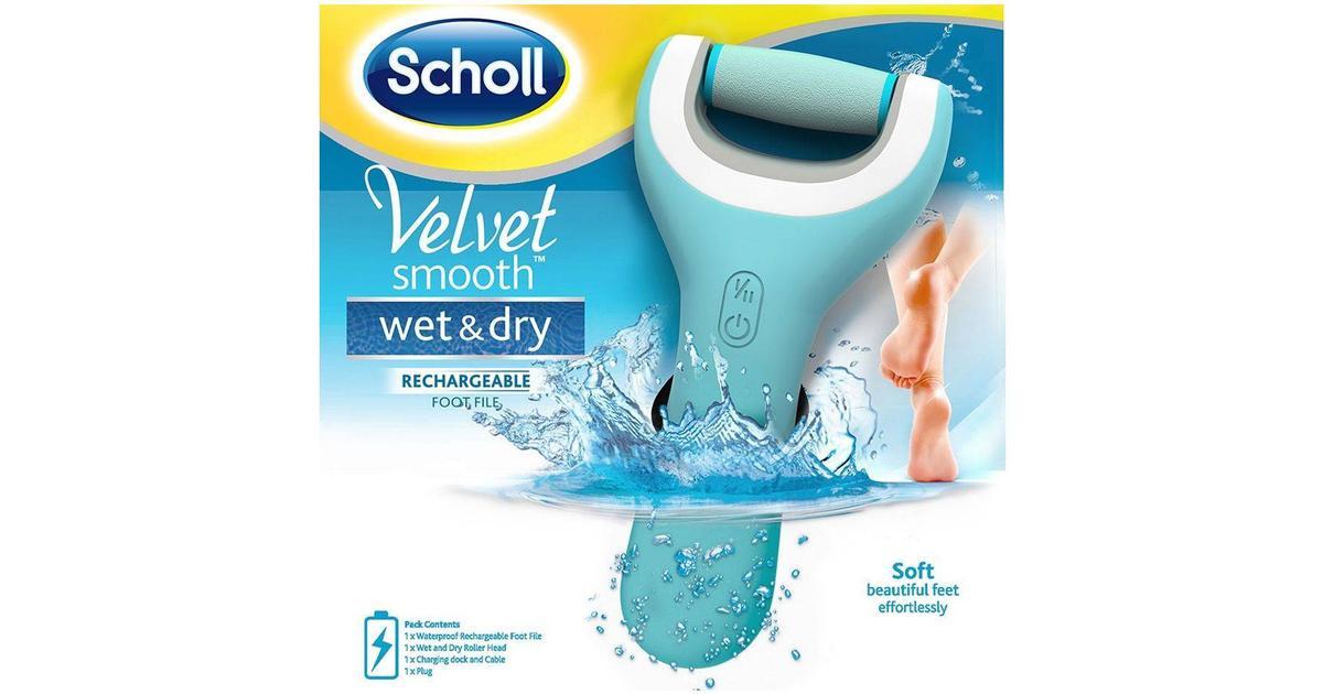 Vellidte Scholl Velvet Smooth Wet & Dry Elektrisk Fodfil - Sammenlign VD-03