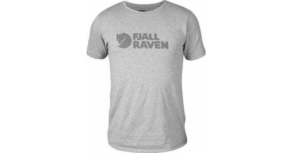 Fjällräven Logo T shirt Grey