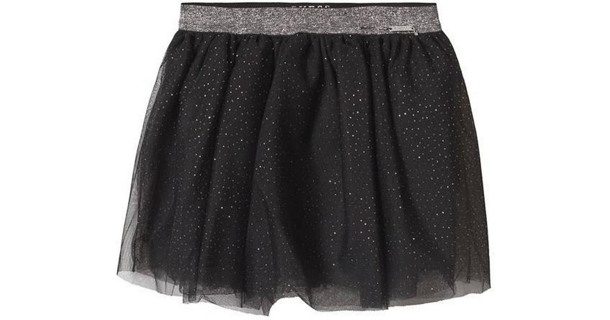 Guess Glitter Look Tulle Skirt Black ( K91D12K84O0) Sammenlign priser & anmeldelser på PriceRunner Danmark