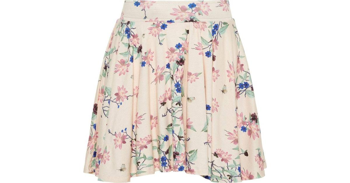 Name It Kid's Floral Print Skirt PinkScallop Shell (13166648)