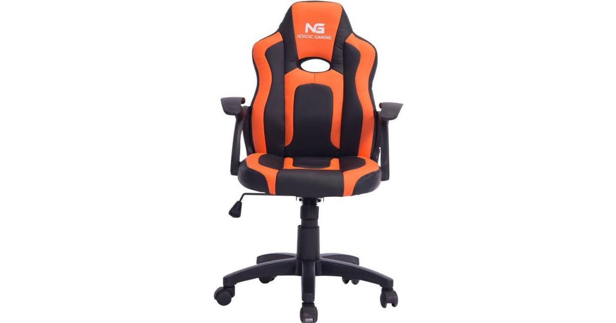 Nordic Little Warrior Gaming Chair BlackOrange