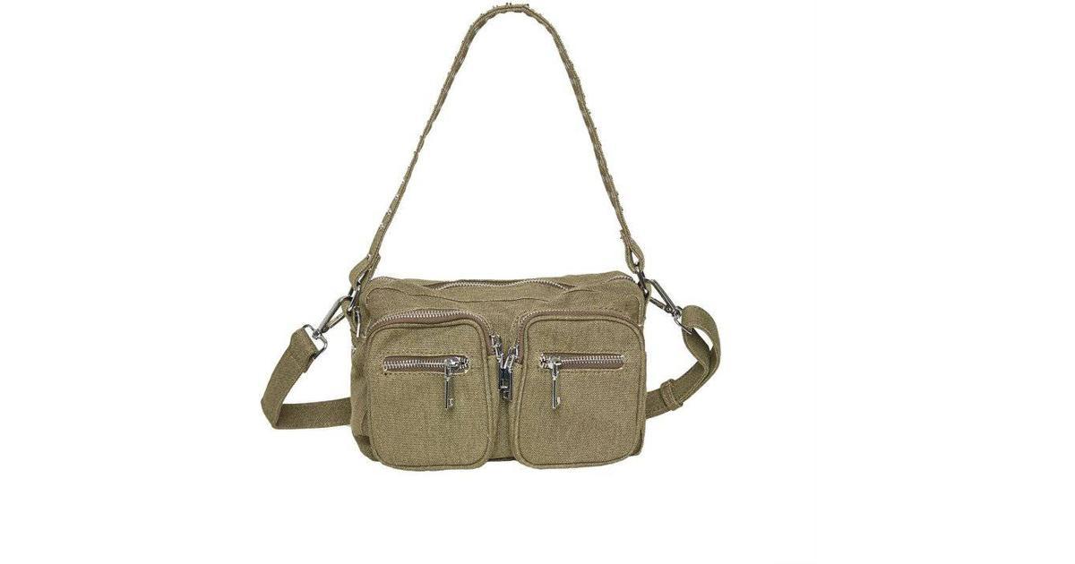 Noella Celina Crossover Bag Dusty Army Green