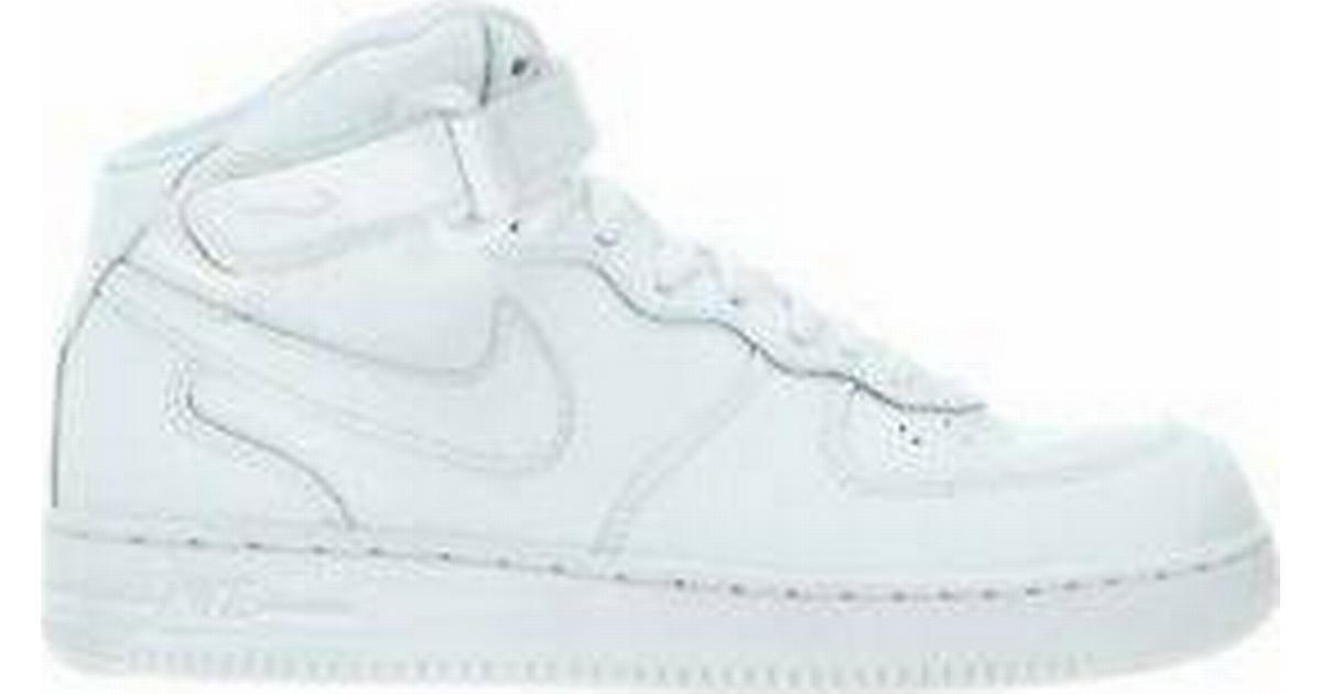 Nike Air Force 1 Mid White Sammenlign priser & anmeldelser på PriceRunner Danmark