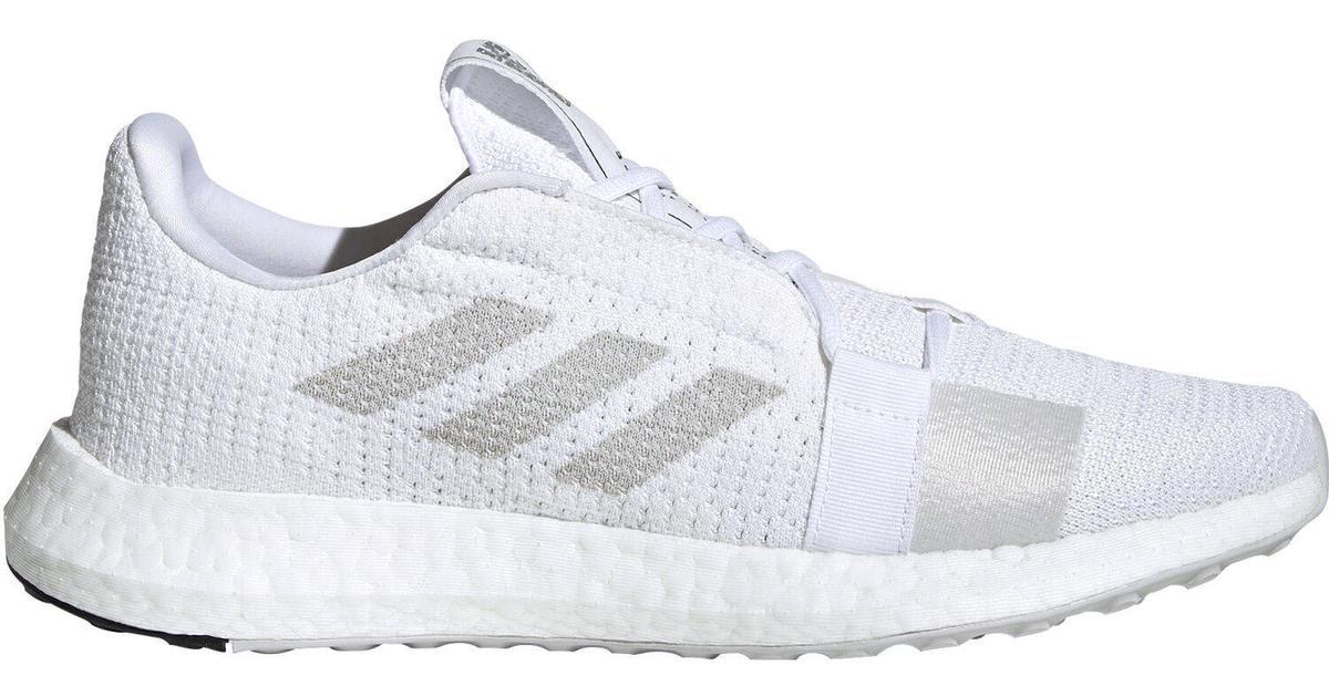 Adidas SenseBOOST Go M Cloud WhiteGrey OneCore Black Sammenlign priser & anmeldelser på PriceRunner Danmark