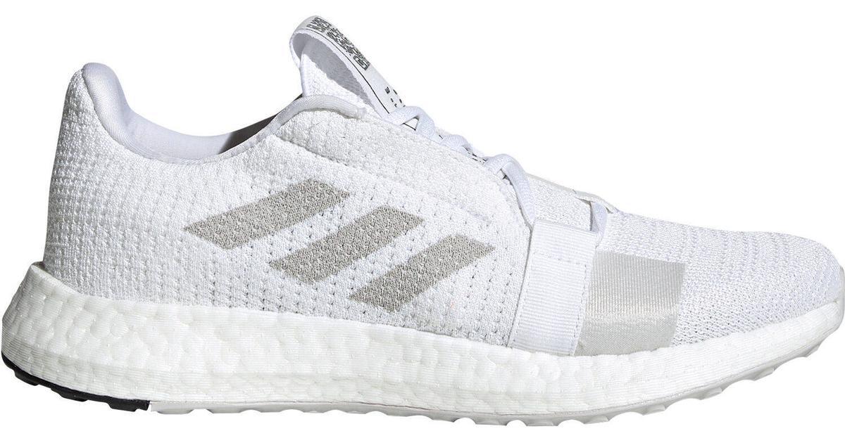 Adidas SenseBOOST Go W Cloud WhiteGrey OneCore Black