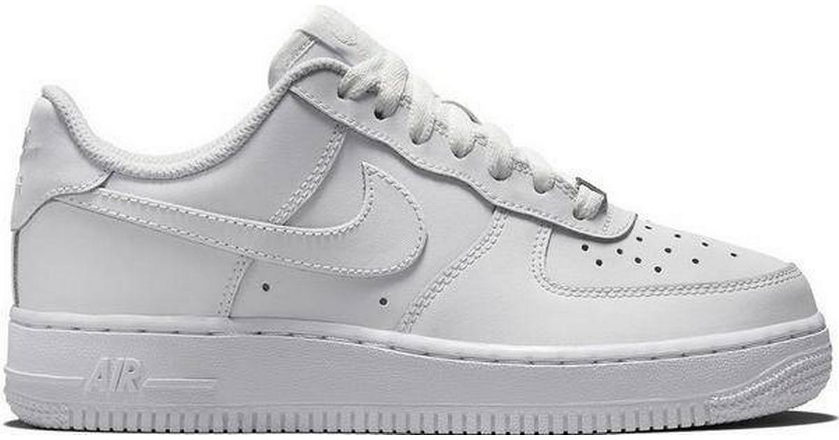 Hvide Nike Air Force Sko   Altid billige online priser på