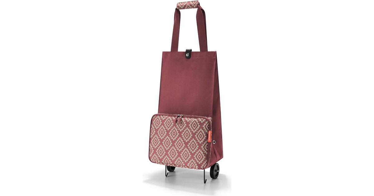 Reisenthel Foldable Trolley Diamonds Rouge