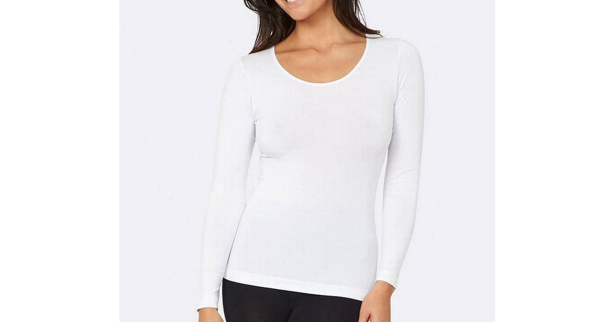 Boody Long Sleeve Top White