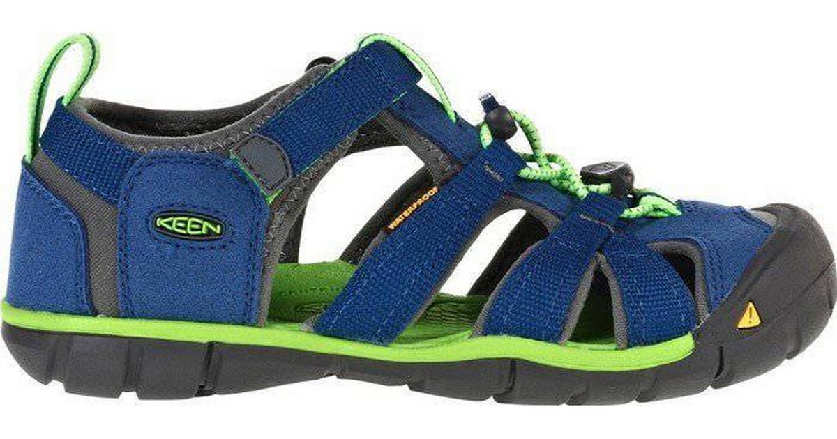 fabrik autentisk udløb billigt salg Keen Older Kid's Seacamp II CNX - True Blue/Jasmine Green
