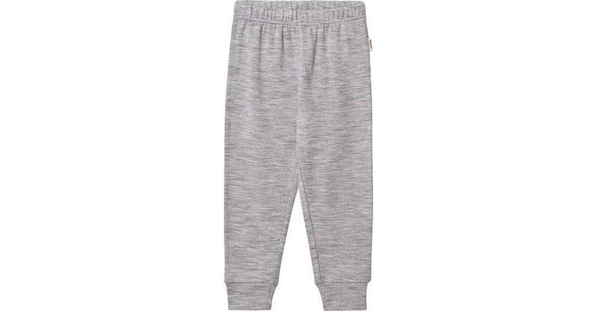 Kuling Uld Frotté Bukser Grey Melange (451089)