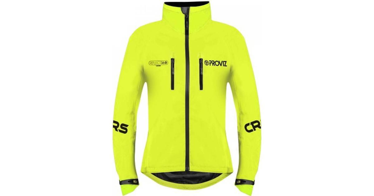 Proviz Reflect360 CRS Cycling Jacket Women Yellow Sammenlign priser & anmeldelser på PriceRunner Danmark