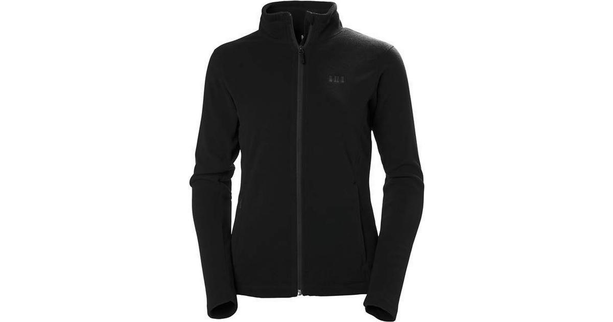 helly hansen daybreaker fleece jacket black sammenlign priser hos pricerunner. Black Bedroom Furniture Sets. Home Design Ideas