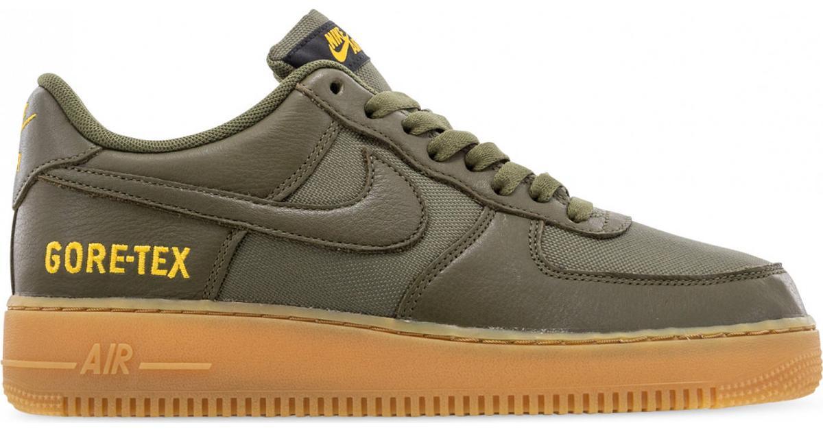 Nike Air Force 1 GORE TEX M Medium OliveGoldBlackSequoia