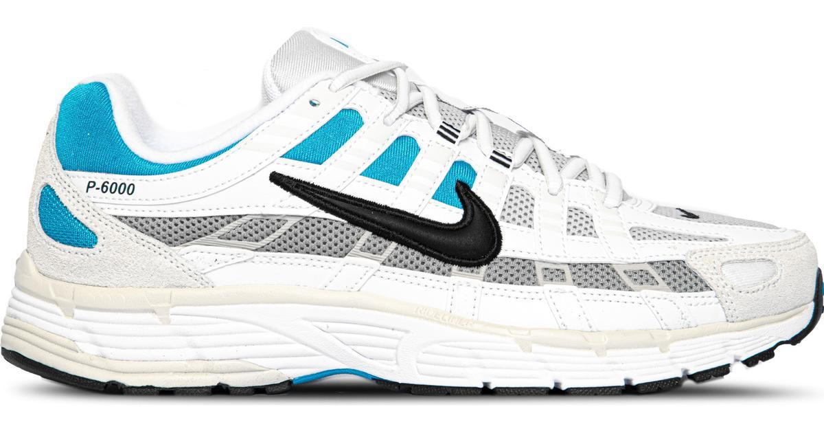 Nike P 6000 M WhiteLaser BlueLight Smoke GreyBlack