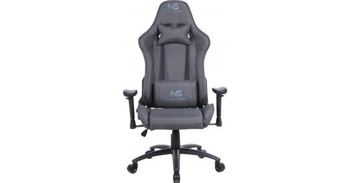 Nordic Racer Fabric Gaming Chair Black