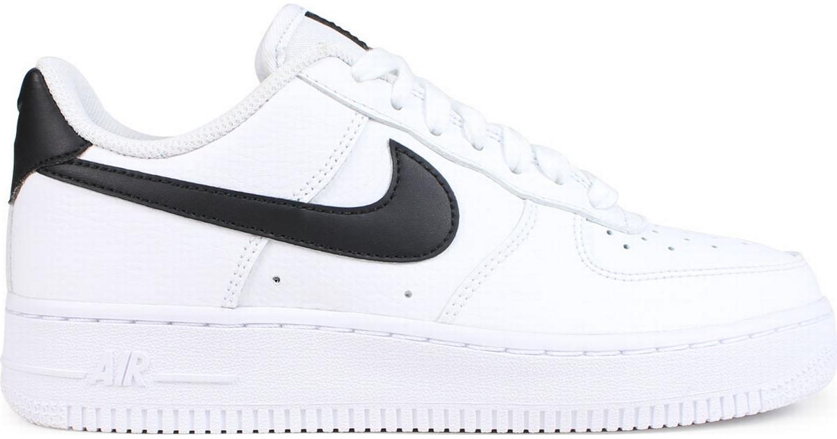 Nike Air Force 1 '07 W WhiteBlackWhite Sammenlign priser & anmeldelser på PriceRunner Danmark