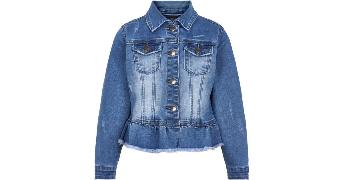 Name it Star Rika denim jakke Blå