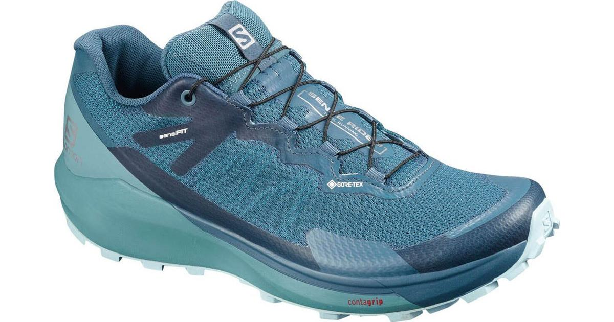 Salomon Sense Ride 3 GTX Invisible Fit W Indian TealSmoke BlueAngel Falls