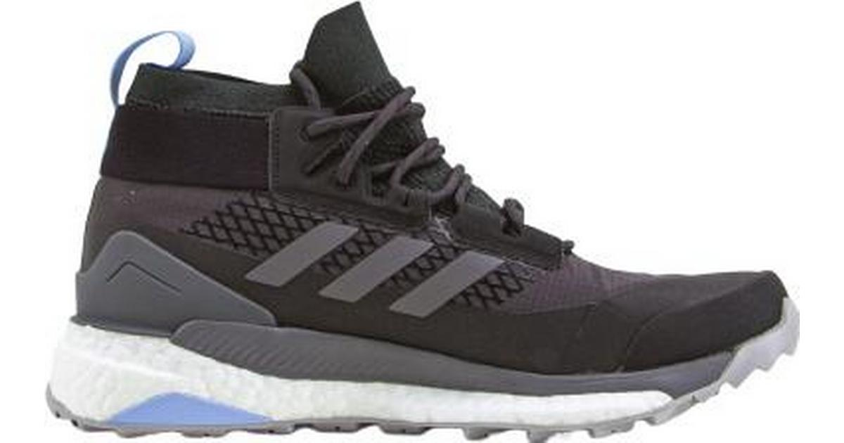 Adidas Terrex Free Hiker W CarbonGray FourGlow Blue