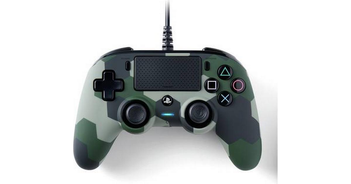 Nacon Wired Compact Controller Camo Green (PCPS4)
