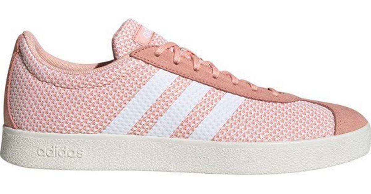 Adidas VL Court 2.0 W Glow PinkCloud WhiteCloud White