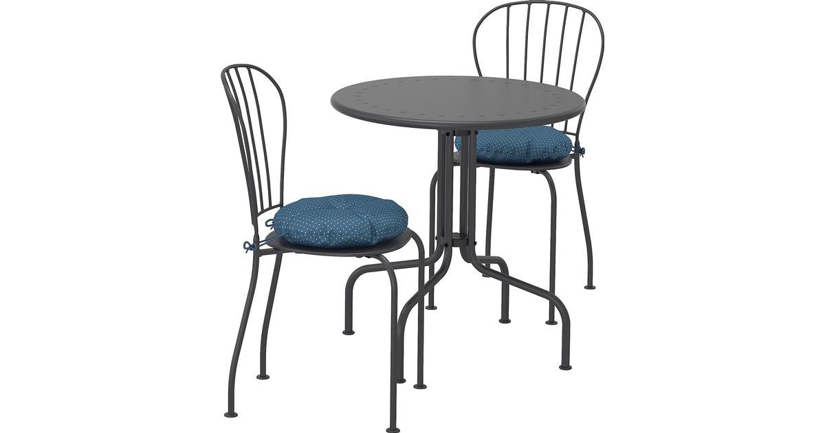 Ikea Läckö Cafésæt, 1 borde inkl. 2 stole