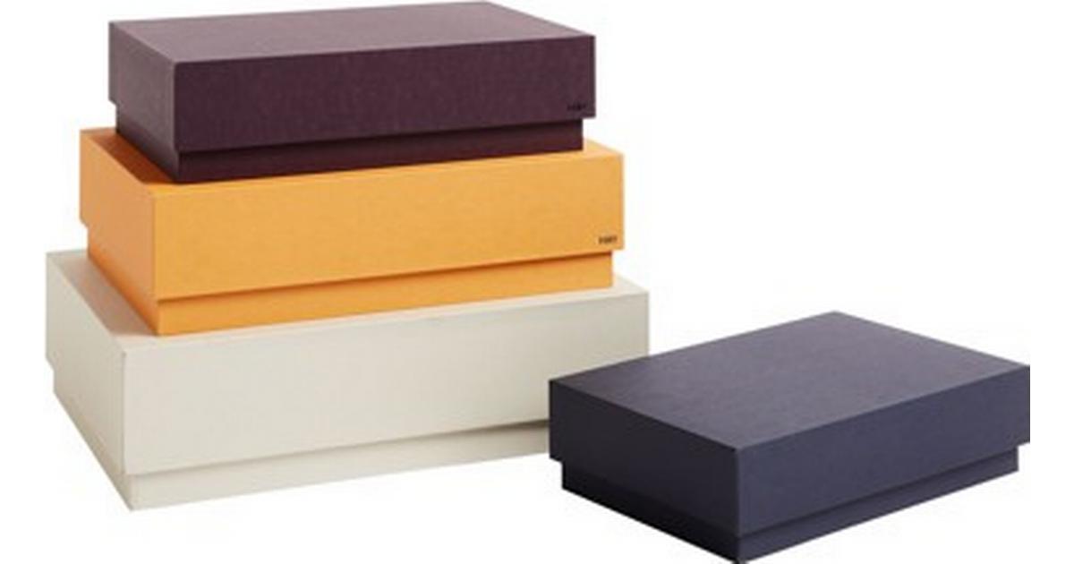 Picture of: Hay Box Box Desktop 29cm 4 Pack Smatingsopbevaring Se Priser Hos Os