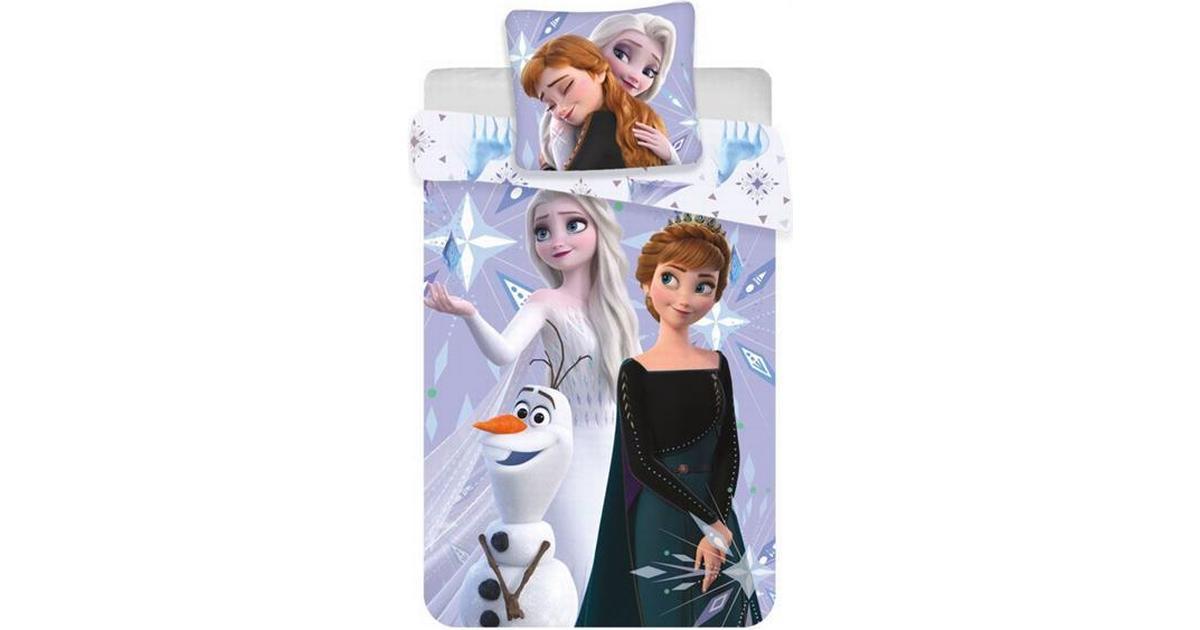 Picture of: Disney Frozen 2 Junior Sengetoj 100x140cm Se Priser Hos Os
